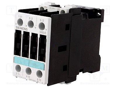 CONTATOR 3RT10 24-1BB40 24VDC   3RT1024-1BB40