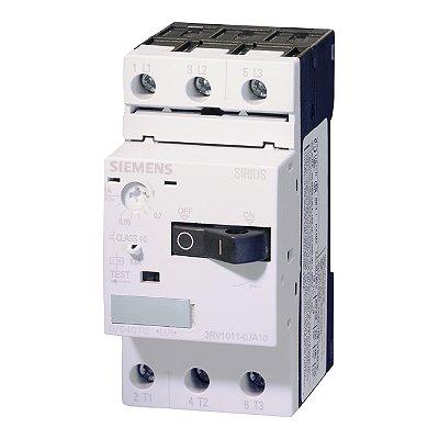 DISJUNTOR 3RV10 11-0CA10 (0,18-0,25A)   3RV1011-0CA10