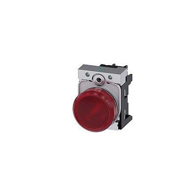 SINALEIRO MET 230V PARA 22MM VM   3SU1156-6AA20-1AA0