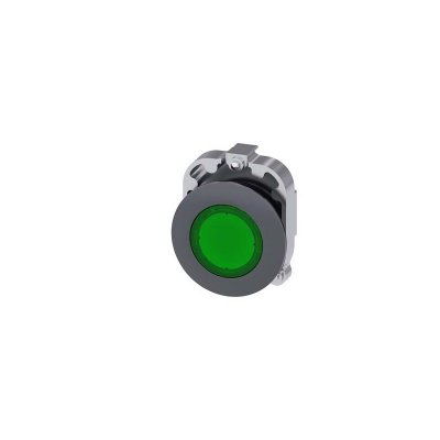 SINALEIRO VERDE 30MM METAL   3SU1061-0JD40-0AA0