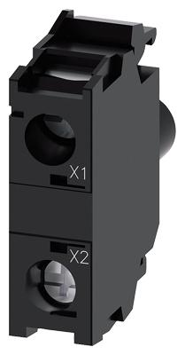 BLOCO LED COM LED INTEGRADO24V CA/CC VM   3SU1401-1BB20-1AA0