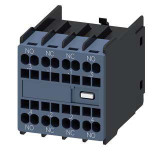 bloco de contato auxiliar frontal 2NA+2NFS00-S3 MOLA SIEMENS Innovations 3RH2911-2FA22