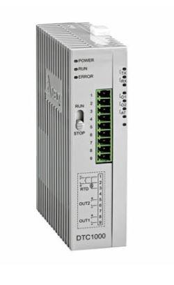 Controlador de temperatura DTC tipo modular com Unidade principal com 1 saída de tensão 0~10Vdc linear e 1 saída a Rele DELTA DTC1000L