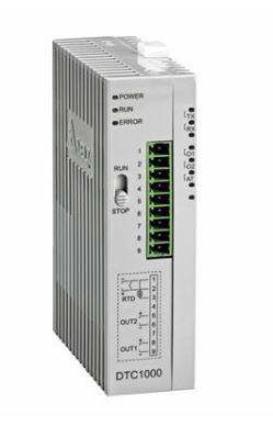 Controlador de temperatura DTC tipo modular com Unidade principal com 2 saídas a Rele DELTA DTC1000R