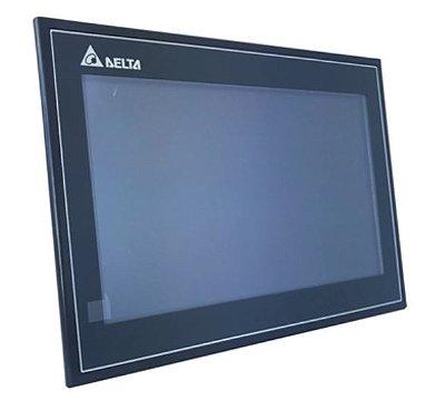 IHM - Modelo 100 de 10,1'' COM ethernet com 65536 cores, 1024x600 - 256MB de memória de programa - Processador 800MHz com portas comunicação USB e 3 COM e Ethernet DELTA DOP-110WS
