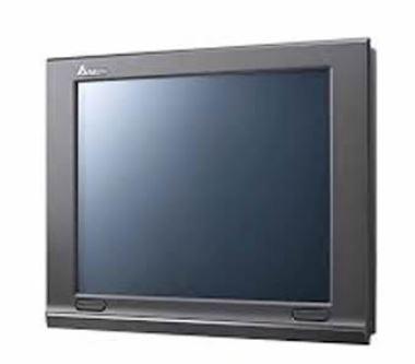 IHM - Modelo W de 12,1'' COM ethernet (padrão) com 65536 cores, 1024x768 - 256MB de memória de programa - Processador 1GHz DELTA DOP-W127B