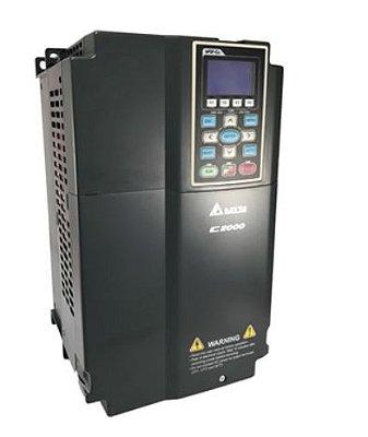 Inversor de Frequência 15CV (11KW) - Modelo C2000 - 220 Volts - Trifásico - Standard - utilizado para variação de velocidade de motores elétricos. DELTA VFD110C23A