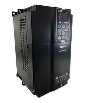 Inversor de Frequência 15CV (11KW) - Modelo C2000 - 380/480 Volts - Trifásico - Standard - utilizado para variação de velocidade de motores elétricos. DELTA VFD110C43A