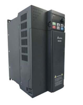 Inversor de Frequência 15CV (11KW) - Modelo MS - 380/480 Volts - Trifásico - Standard - Sem filtro EMI - Com STO - Frequência Normal de Saída DELTA VFD25AMS43ANSAA