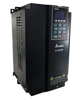 Inversor de Frequência 20CV (15KW) - Modelo C2000 - 380/480 Volts - Trifásico - Standard - utilizado para variação de velocidade de motores elétricos. DELTA VFD150C43A