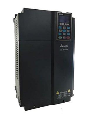 Inversor de Frequência 25CV (18,5KW) - Modelo C2000 - 220 Volts - Trifásico - Standard - utilizado para variação de velocidade de motores elétricos. DELTA VFD185C23A