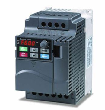 Inversor de Frequência 3CV (2,2KW) - Modelo E - 380/480 Volts - Trifásico - Driver Padrão - Transistor de Frenagem Incorporado - utilizado para variação de velocidade de motores elétricos. DELTA VFD022E43A