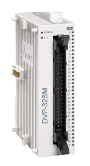 Módulo de expansão para CLP Modelo SS, AS, SX, SC ou SV com 32 Entradas Digitais e Alimentação 24Vdc DELTA DVP32SM11N