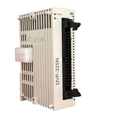 Módulo de expansão para CLP Modelo SS, AS, SX, SC ou SV com 32 Saídas digitais e Alimentação 24Vdc DELTA DVP32SN11TN