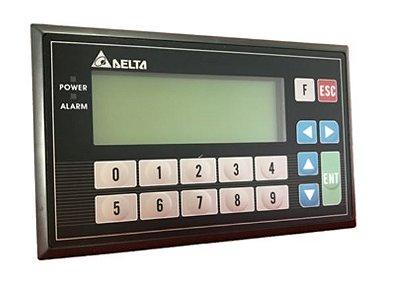 Painel de texto 4 linhas - Com CLP incorporado de 16 ED e 16 SD a Relé DELTA TP04P-32TP1R
