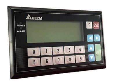 Painel de texto 4 linhas - Com CLP incorporado de 8 ED e 8 SD a Relé DELTA TP04P-16TP1R