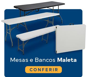 Mini Banner Mesas e Banco