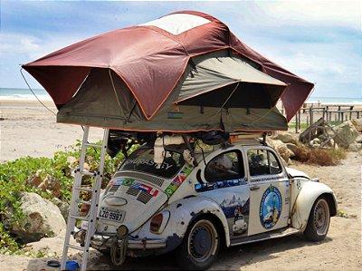 Barraca de Teto Automotiva Adventure DELUXE (1 a 3 Pessoas)