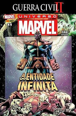 Universo Marvel #11 Guerra Civil II - A Entidade Infinita
