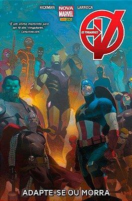 Os Vingadores: Adapte-se ou Morra