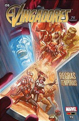 Os Vingadores #19 com Poster Grátis