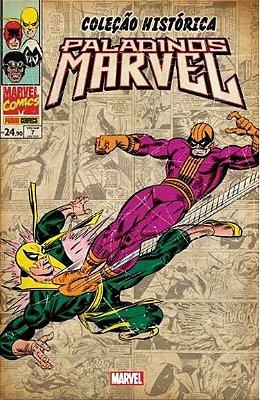 Coleção Histórica Marvel: Paladinos Marvel #7