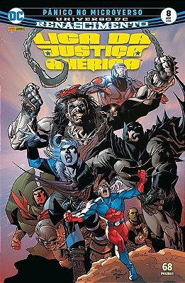 Liga da Justiça da América: Renascimento #8