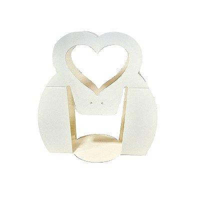 Alça de Papelão p/ Caneca (formato coração)