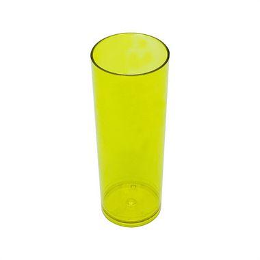 DUPLICADO - Copo Long Drink - Amarelo Neon