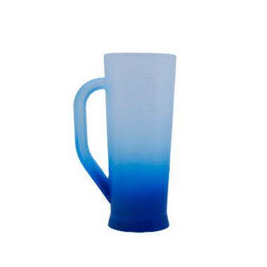 Caneca Long Jateada - Azul