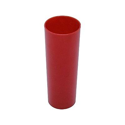 Copo Long Drink - Vermelho Leitoso