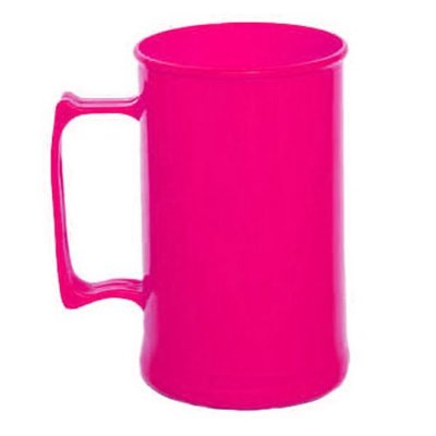 Caneca para Chopp 450ml - Rosa Pink