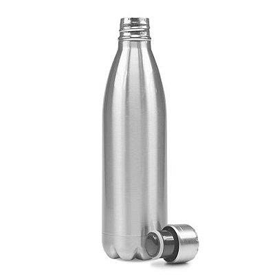 Garrafa de Alumínio  - Prata