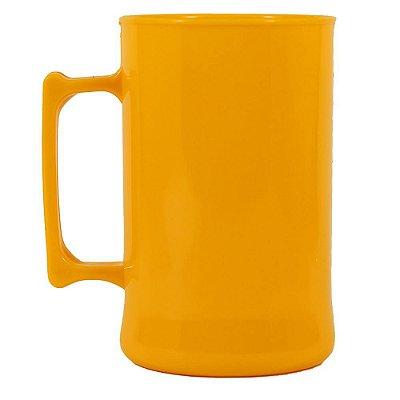 Caneca para Chopp 450ml - Amarelo Gema