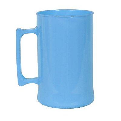 Caneca para Chopp 450ml - Azul Bebê