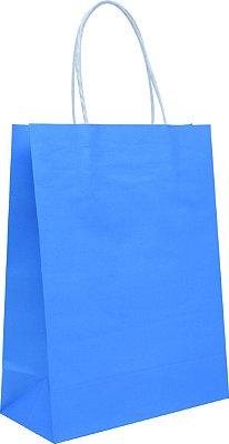 Sacola de Papelão Para Transfer - Azul