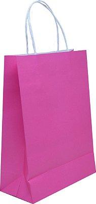 Sacola de Papelão - Rosa Pink