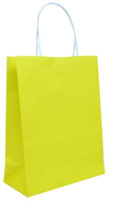 Sacola de Papelão - Amarela