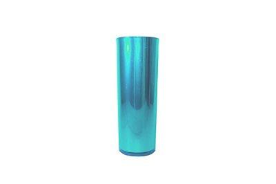Copo Long Drink Metalizado - Azul Tiffany