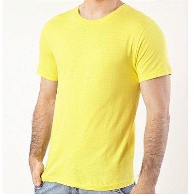 Camisa Masculina - Amarelo Bebê