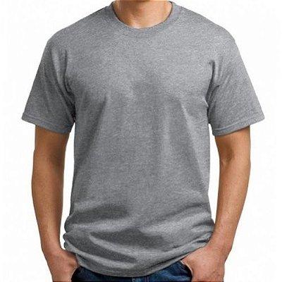 Camisa Masculina - Cinza Mescla