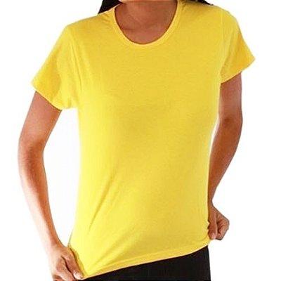 Baby Look Feminina - Amarelo Canário