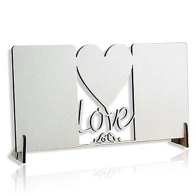 Porta Retrato Love - MDF