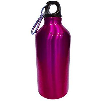 Squeeze com Chaveiro 500ml - Rosa Pink