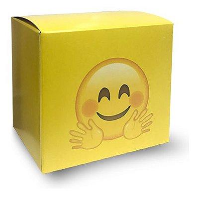 18- CAIXINHA PARA CANECA - EMOJI SMILE - 1 UNIDADE