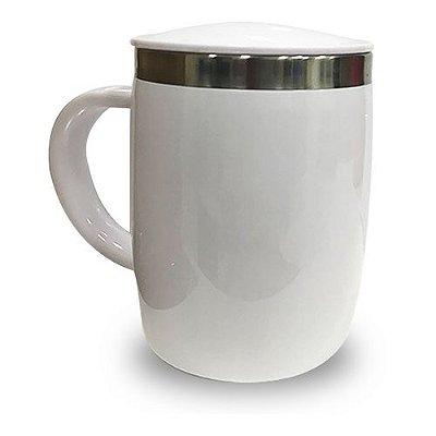 Caneca Isotérmica 450ml - Branca