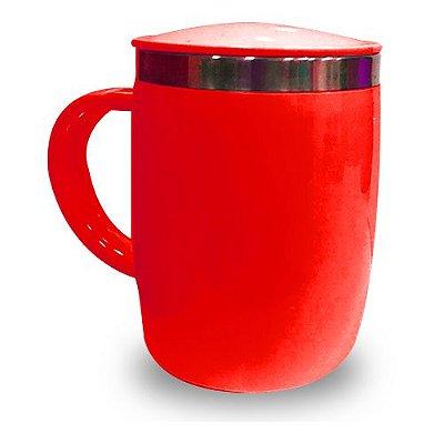 Caneca Isotérmica 450ml - Vermelha