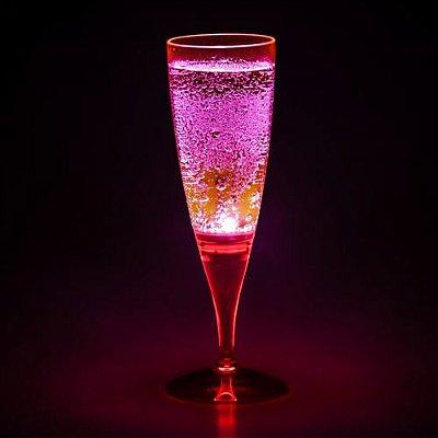Taça com LED - Vermelho Neon