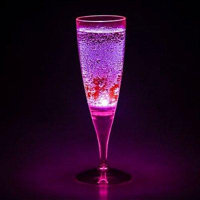 Taça com LED - Rosa Neon