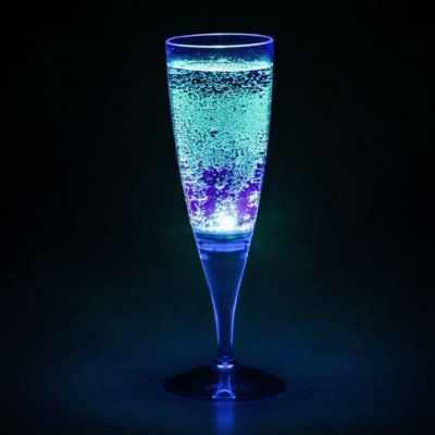 Taça com LED - Azul Neon